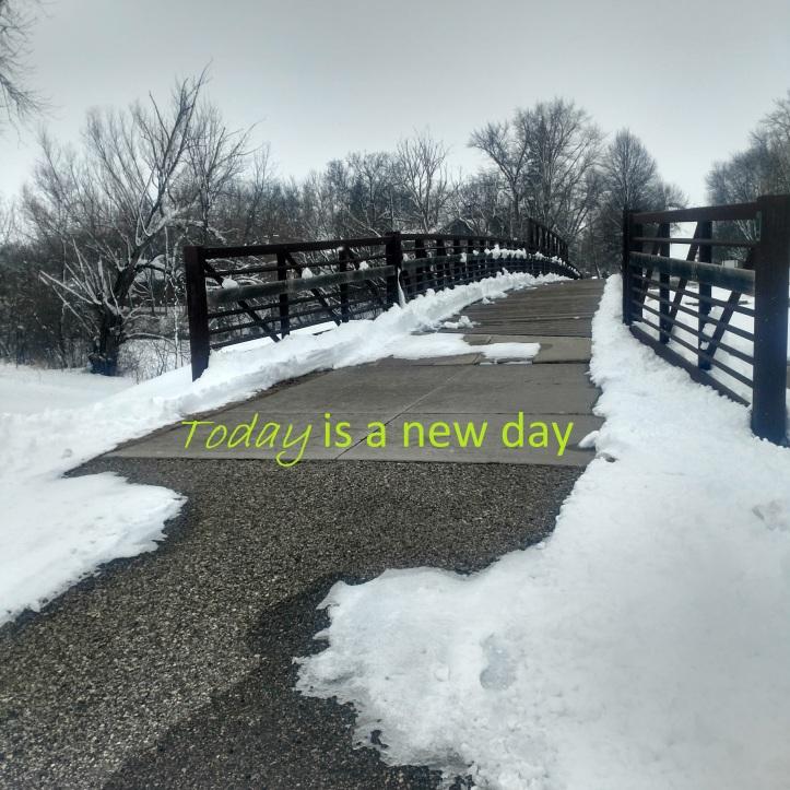Dawson snow bridge square w words